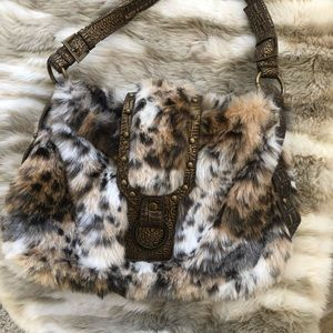 Handbags - Beautiful Animal Print Vintage Purse